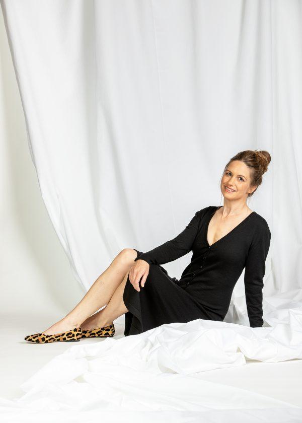 Kaschmir Kleid schwarz